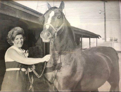 She loved her horses.